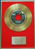 Elvis Presley - 24 Carat Gold 7 inch Disc - Heartbreak Hotel (For USA Sales) …